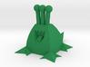 Polygonal Alien (Plain) 3d printed
