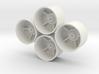 Losi Micro 1/24 SCT/Rally Dish Wheels 3d printed