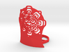 Northwest Design Sun Mask Tea Light Holder - Tall 3d printed