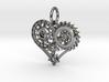 Mech Heart Pendant Mini 3d printed