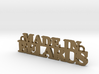Made in BELARUS Pendant 3d printed