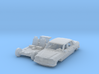 Mercedes-Benz W123 (British N 1:148) 3d printed