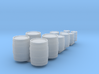 Barrels & Oil Drums  Nm 1:160 3d printed