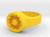 US9.5 Ring XVIII: Tritium (1.5x6mm Vials) 3d printed