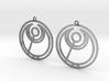 Abbi - Earrings - Series 1 3d printed