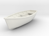 Wooden boat. Scale O (1/43) 3d printed