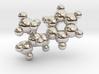Methamphetamine molecule pendant 3d printed