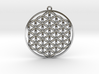 Flower Of Life Pendant 3d printed