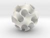 Gyroid Sphere 3d printed