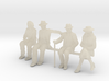 1:48 scale SEATED FIGURE PACK 3d printed
