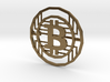 Bitcoin Pin 3d printed