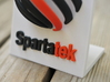 Spartatek 3D Logo 3d printed Close up - Full Color Sandstone