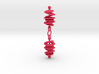 Colorful Orbital Drift Earrings 3d printed