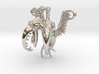 Siamese Pterodactyle - Bird Necklace  3d printed
