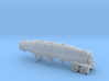HO 1/87 Trailer 16a Fruehauf 1960's extra hatches 3d printed