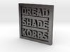 "DSK: ""Box Logo"" Morale Patch 3d printed"