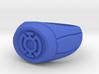 Blue Lantern Ring 3d printed