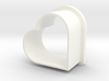 Heart Cookie Cutter 3d printed