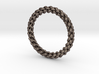 6-strand Round Braid Ring 3d printed