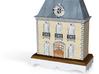 1:144 Micro Scale French Chateau Dollhouse w/o Bas 3d printed