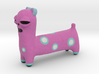 Spotted Pink Animal 3d printed