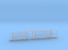 1:84 HMS Victory Side Gallery Decoration 3d printed