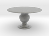 1:48 Quarter Scale Round Dining Table 3d printed