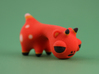 Horned Spotted Orange Animal 3d printed