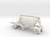 S-scale 1/64 Shorty Dry Bulk Trailer 07a 3d printed This is a CAD render of the parts you'd recieve.