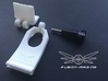 FPV Monitor Mount for DJI Phantom 'Adjustable' 3d printed FPV Monitor Mount for DJI Phantom 'Adjustable'