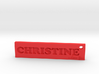 CHRISTINE (Key chain)(Pendant) - Love 3d printed