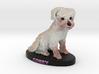 Custom Dog Figurine - Corey 3d printed