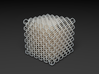 Microstructures: Diamond 5mm cell 3d printed