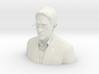 Edward Snowden Desktop Portrait 3d printed