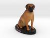 Custom Dog Figurine - Ruby 3d printed
