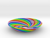 0164 Torus of Doubly Twisted Strips (n=32,d=15mm) 3d printed