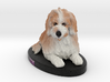 Custom Dog Figurine - Zoe 3d printed