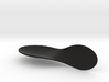 twisted spoon 1   h 30 ARGENTO 3d printed