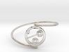 Julie - Bracelet Thin Spiral 3d printed