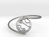 Caitlin / Kaitlin - Bracelet Thin Spiral 3d printed