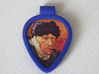 Guitar Pick Holder Pendant 3d printed Front view