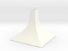Squared Medium Conical Vase 3d printed