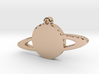 Rings of Saturn Necklace Pendant 3d printed