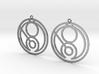 Gina - Earrings - Series 1 3d printed