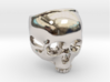 """The """"Ct Skull Ring"""" 3d printed"""