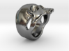 "The ""Ct Skull Ring"" 3d printed"