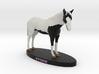 Custom Horse Figurine - Storm 3d printed
