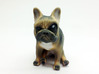 Sitting Brown Big Eye Frenchie  3d printed