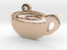 Coffee Cup Necklace Pendant 3d printed
