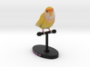Custom Bird Figurine  - Charlie 3d printed